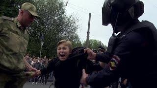 Задержания на акции против повышения пенсионного возраста в Петербурге