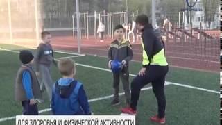 Белгородцев приглашают заниматься спортом на школьных стадионах