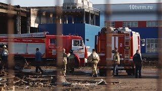 Пожар в Саранске