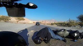 Подборка мото дтп. Аварии мотоциклистов. Мото падения.