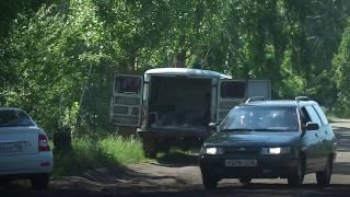 Эксгумация на кладбище в Воронеже