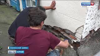 Жители села Смоленское начали своими силами ремонтировать районный Дома детского творчества