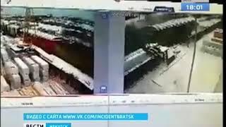 Восемь вагонов сошли с рельсов в Братске, один человек пострадал
