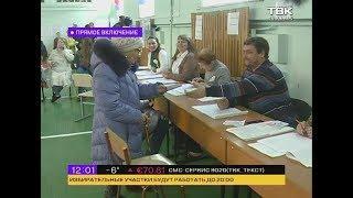 Как проходит голосование в Красноярске (12:00)