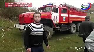 Двое мужчин погибли в результате обвала грунта в Табасаранском районе Дагестана
