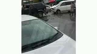 Несколько человек пострадали в серьезном ДТП на Авангарде во Владивостоке