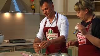 Приготовил и пропиарил рыбное суфле в  программе «ГастрономЪ» Владимир Репин
