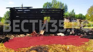 77-летняя пенсионерка погибла на пожаре под Череповцом