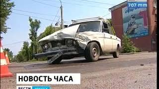 На улице 2 й Железнодорожной в Иркутске неизвестные на чёрных джипах без номеров расстреляли Toyota