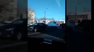 ДТП в Волжске (Марий Эл) на улице Щорса