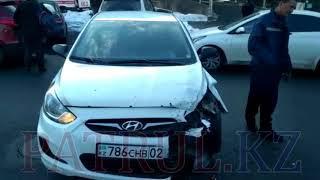 В Алматы в результате ДТП пострадал водитель авто