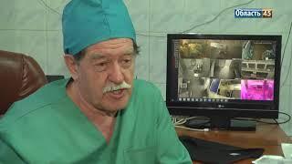 Курганские врачи провели уникальную операцию в прямом эфире
