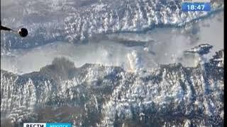 Весенний Байкал сфотографировали со станции МКС