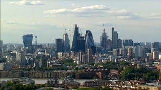Умеренный рост ВВП Великобритании