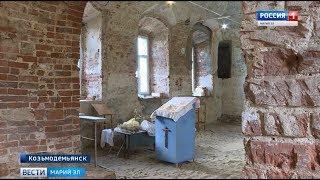 Жители Козьмодемьянска своими силами восстанавливают старинную церковь