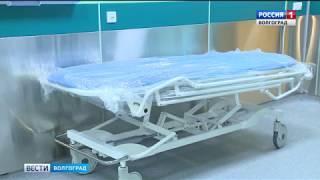 Председатель Госдумы РФ Вячеслав Володин осмотрел в Волгограде реконструированную больницу № 25