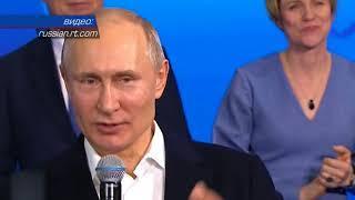 Крым отдал свой голос за Путина