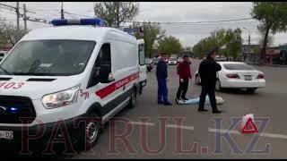 В Алматы автобус насмерть сбил девушку
