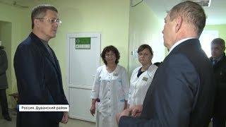 Радий Хабиров посетил северо-восток республики