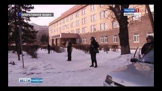 Хакасский госуниверситет вновь стал местом проведения антитеррористических учений. 16.02.2018