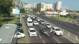 ДТП на ул. Красных Партизан, д.4 27.08.2018
