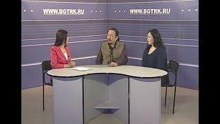 Вести Интервью (на бурятском языке). Саян Жамбалов, Надежда Мунконова. Эфир от 21.03.2018