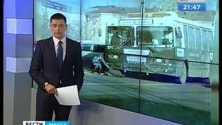 Троллейбус сбил мужчину в Иркутске