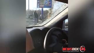 В жутком ДТП под Большим Камнем погибли два человека , 5 пострадали