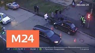 Два автомобиля столкнулись на севере Москвы - Москва 24