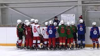 Подготовка к турниру по хоккею