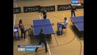 В селе Красноармейском  состоялось командное первенство района по настольному теннису среди школьник