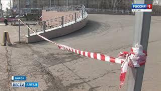 В Бийске по иску прокуратуры закрыли один из крупнейших торговых центров «Воскресенье»