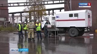 Карельские спасатели присоединились ко всероссийским учениям