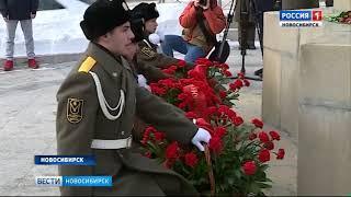 105-летие со дня рождения Александра Покрышкина отметили в Новосибирске