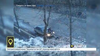 Житель Нефтекамска придумал оригинальный способ очистки улиц от снега