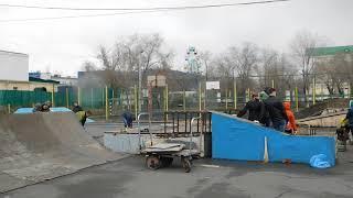В Оренбурге демонтируют скейт-парк