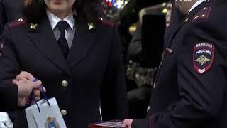 Заслуженные награды в преддверии профессионального праздника получили сотрудники самарской полиции