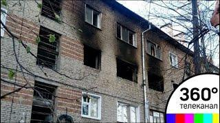 Взрыв бытового газа произошел в жилом доме в Мичуринске