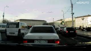 ДТП на пл. Победы в Калининграде. 13.02.18