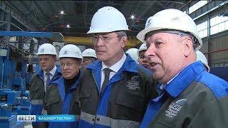 Радий Хабиров сегодня посетил Белорецкий район