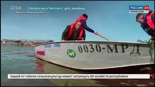 В Мордовии началась первая волна весеннего паводка