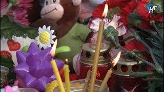 Новгородцы собрались на митинг памяти жертв пожара в кемеровском торговом центре