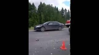 ДТП на Вологда - Новая Ладога