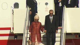 Визит Эрдогана в Германию завершается