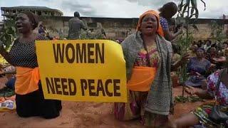 Слёзы и молитвы камерунских женщин