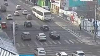 На улице Ленина столкнулись два автобуса