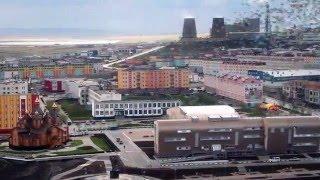 Ана́дырь Anadyr - colorful city on the Russian north