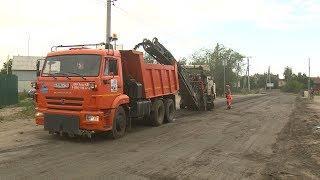 В поселке Верхнезареченском идет капитальный ремонт дорог