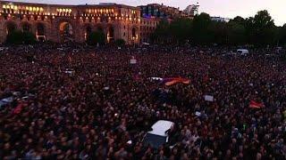 Протесты в Армении не стихают