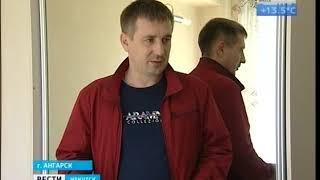 Облицовочная стена пятиэтажного дома обвалилась в Ангарске